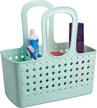 InterDesign Orbz - Shower Tote Holder and Organizer for Shampoo, Cosmetics, Beauty Products - Mint - Small/Divided: 11.75 ...