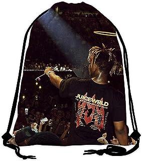 shenyizhu JuiceWr-ld Blog Drawstring Backpack Sport Bags String Bag Sack Cinch Tote Gym Backpack Bulk for School Gym Sport...