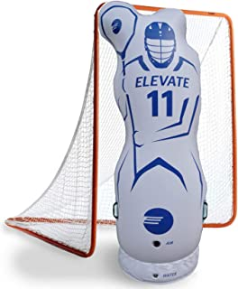 Elevate Inflatable Lacrosse Goalie Shot Blocker and Dodging Dummy - Dodge and Shoot with This New Lacrosse Goal Target Tra...