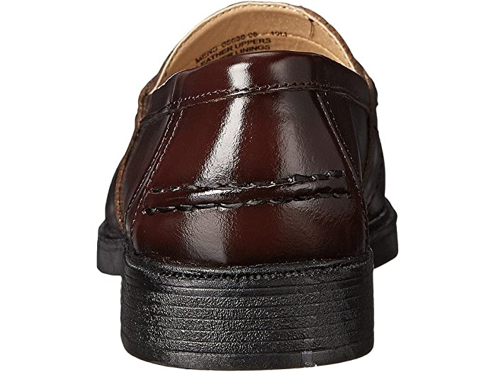 Nunn Bush Lincoln Penny Loafer Burgundy Polished Leher Loafers
