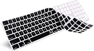 Keyboard Cover Compatible 2017 2018 New Magic Keyboard with Numeric Keypad US Layout MQ052LL/A and A1843-Black