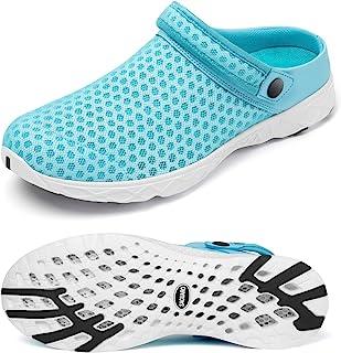 SAGUARO Hombre Zuecos y Mules Mujer Zapatos de Verano Malla Sandalias Respirable Zapatillas Casual de Playa