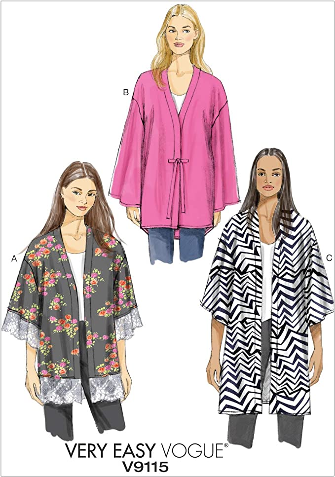 Vogue Wardrobe Pattern Collection  VP951 Sewing Pattern Easy Sewing Pattern Med Pattern Sizes Xsm-Sml