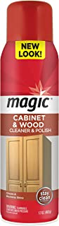 Magic Wood Deep Cleaner and Polish – 17 Ounce – Heavy Use Wood Furniture..