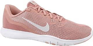 Nike Women's W Flex Trainer 7, Wolf Grey/Racer Pink-Stealth