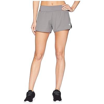 ASICS 3 Run Shorts (Carbon/Black) Women