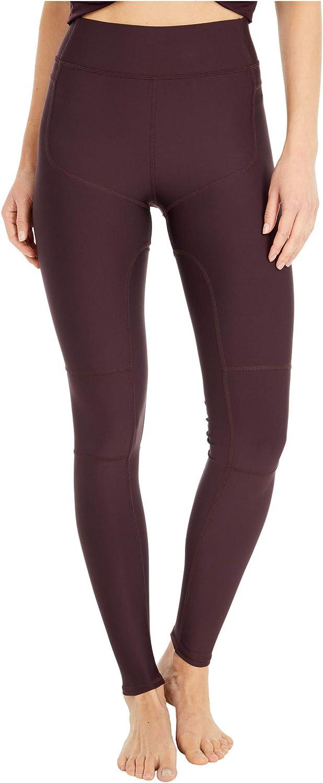 ALO High-Waist Body Leggings Oxblood XS
