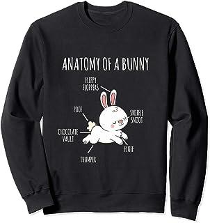 Anatomía de un conejito Sudadera