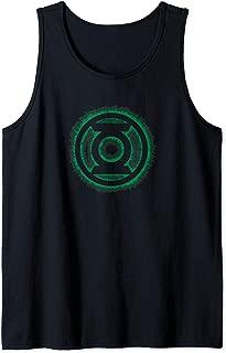 Green Lantern Green Flame Logo Tank Top