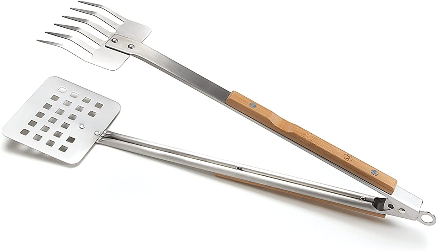 Outset QV57 Verde Collection Locking Claw Tongs
