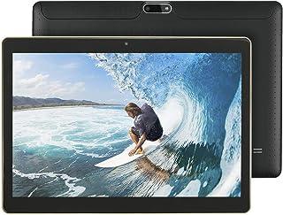"""KISEDAR Tablet Android 9.0 10.1 """"PC4GB RAM 64GB Tablet Tableta desbloqueada de Cuatro núcleos, Adecuada para teléfono móvi..."""