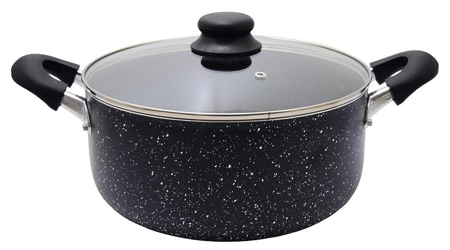 美徳浴室荒野コーベック(Kohbec) 両手鍋 ブラック 26cm