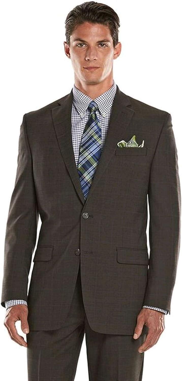 Chaps Men's Performance Comfort-Fit Wool-Blend Stretch Suit Jacket, Olive