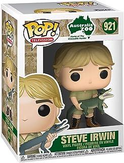 Funko Pop! TV: Cocodrilo Hunter - Figura de vinilo Steve Irwin (estilos pueden variar)