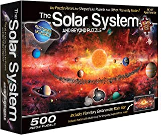 The Solar System Puzzle (500 Piece)
