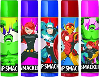 Lip Smacker Marvel Avengers Storybook Collection, Set of 5 Flavored Lip Balms