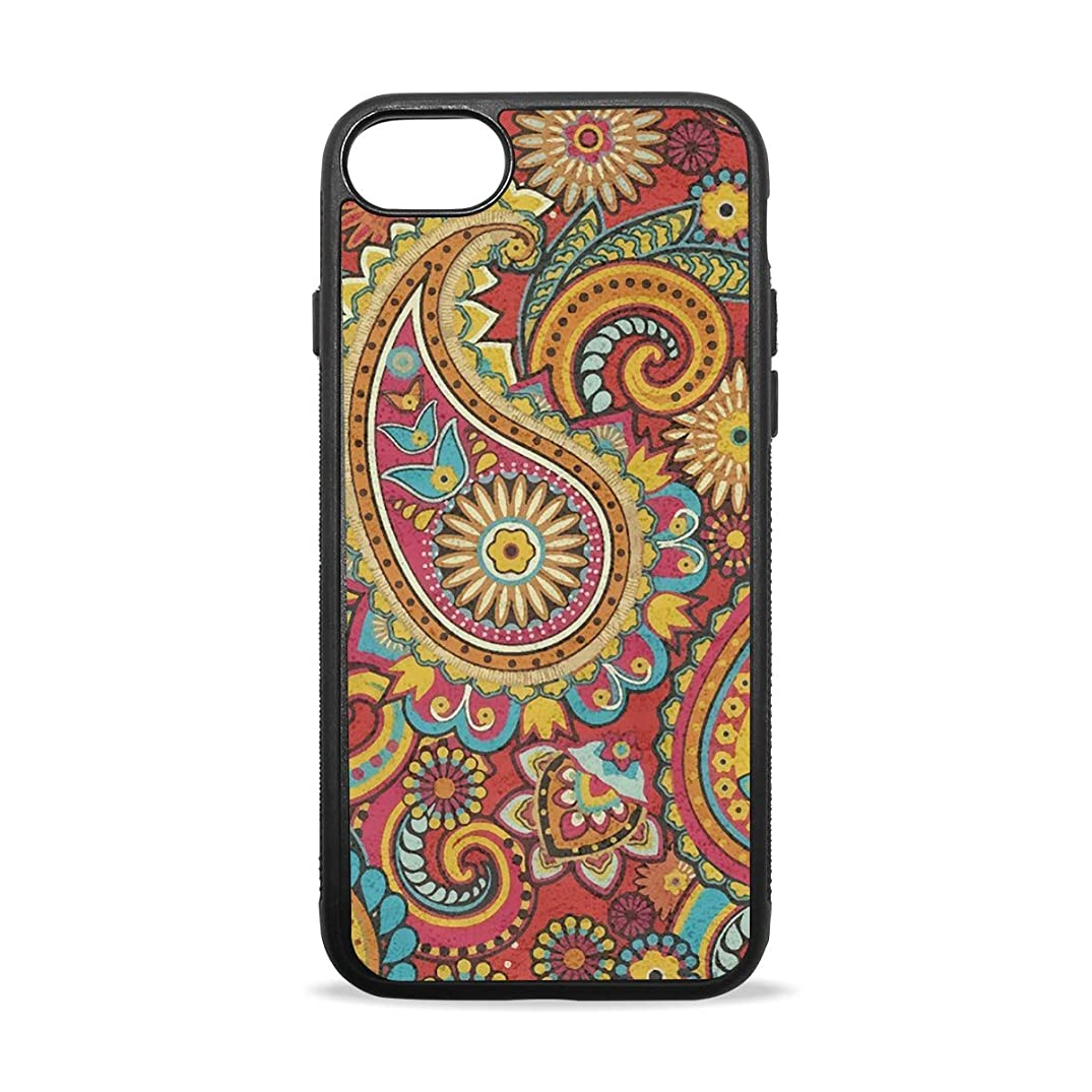 Apple Case Shockproof Slim TPU Protective Cover Drop-Shaped Pattern Soft Rubber Silicone Cover Phone Case Compatible with iPhone 7/8 iPhone 7/8 Plus [4.7 inch/5.5 inch]