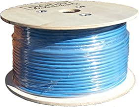 Sunnytech CAT7A AWG22/1, 500ft S-FTP CMR Riser, 1500MHz 10GBase-T Data, Solid Installation Cable, Bulk Pack(w/20 pack Cat7A plug and 20 Boot Cap Free)