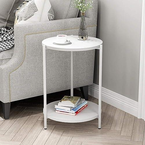 70% de descuento BJYG Mesa Plegable Mesa rojoonda de Doble Capa Mesa de de de la Sala de Estar, sofá Lateral, sofá (Color  A)  tienda