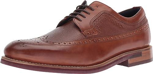 Ted Baker Men's DEELANI Oxford, tan Leather, 7.5 Medium US