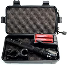 LED Flashlight 10000LM Scalable LED Flashlight Aluminum for Hunting Outdoor at Night etc.