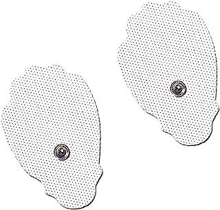 Electrodos Cervicales Facial Gluteos Hombro Manos Rodilla - Electrodo Tonificación Muscular Adelgazar, Self Adhesive Electrodes Masaje Gel Conductor Adhesivos Gelificados60pcs (2.0mm)