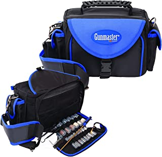 Gunmaster Deluxe Pistol Range Bag with Gun Cleaning Kit (22-Piece)