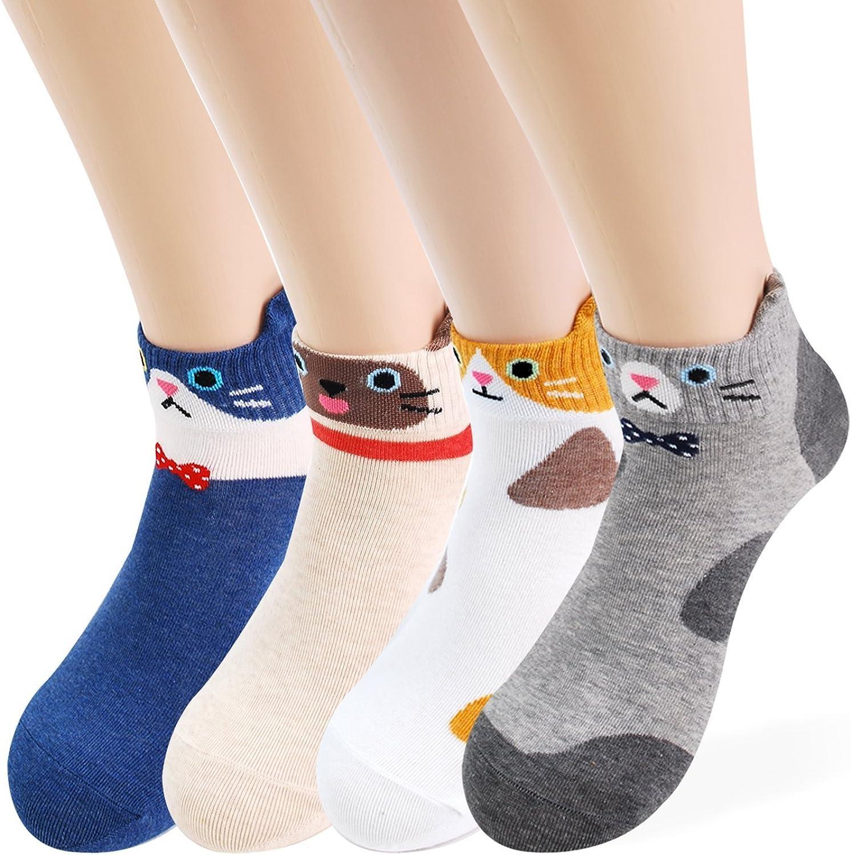 OKIE Best Selling NEW before selling Genuine Womens Socks Gift Animal Dog Cat An Art -