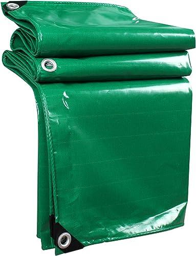 DONGYUER Couteau grattant Gros Camion bache imperméable à l'eau Solaire imperméables en Tissu Pluie bache Abat-Jour Toile Hangar Tissu Tente Pluie Gear,4  7m