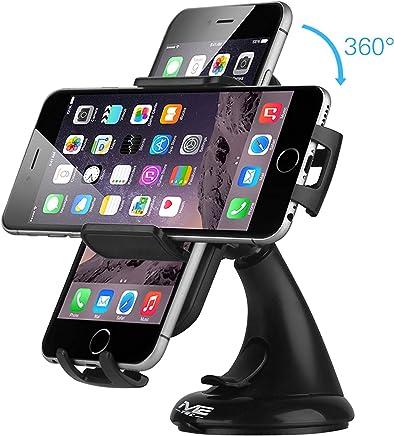 NOPNOG Soporte de coche con ventosa para salpicadero de iPhone 4S 5S y 6 GPS