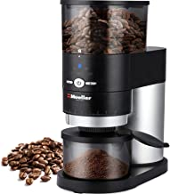 Mueller Supreme Beans Ultra-Grind Conical Burr Grinder Black