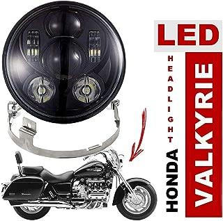 Eagle Lights Valkyrie 7 inch Projection LED Headlight Kit (Black)