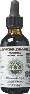 Tonka Alcohol-FREE Liquid Extract, Tonka (Dipteryx odorata) Dried Beans Glyceritet 2 oz