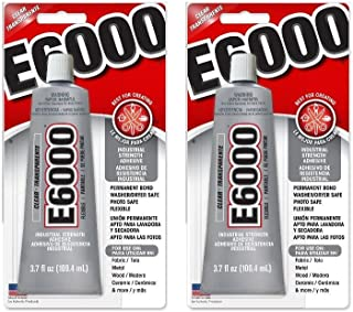E6000 Craft Adhesive 3.7 oz (Pack of 2)