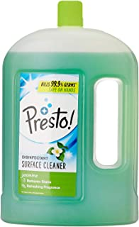 Amazon Brand - Presto! Disinfectant Floor Cleaner Jasmine, 2 L