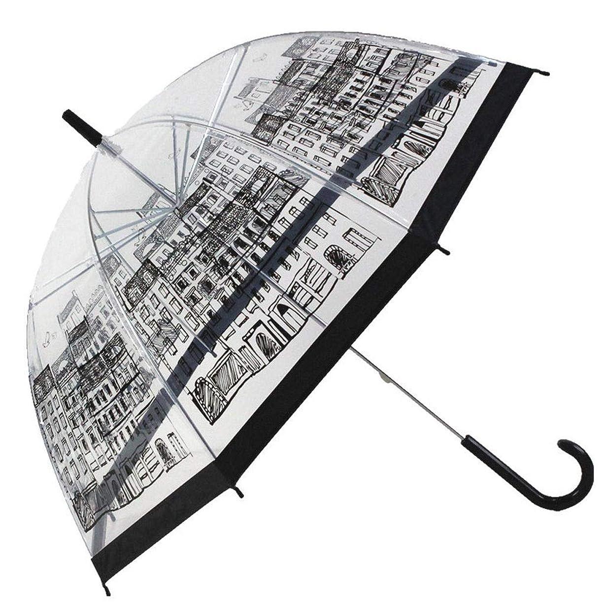 買収まつげ蒸留するRXY-傘 鳥かごの透明な傘、厚手の長いハンドル、アポロ傘 (Color : B)