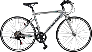 SPEAR (スペア) クロスバイク アルミフレーム 700C シマノ製 6段変速 SPCA-7006 ディレーラー Tourney(ターニー)男性 女性 適用身長 160cmI以上 1年保証
