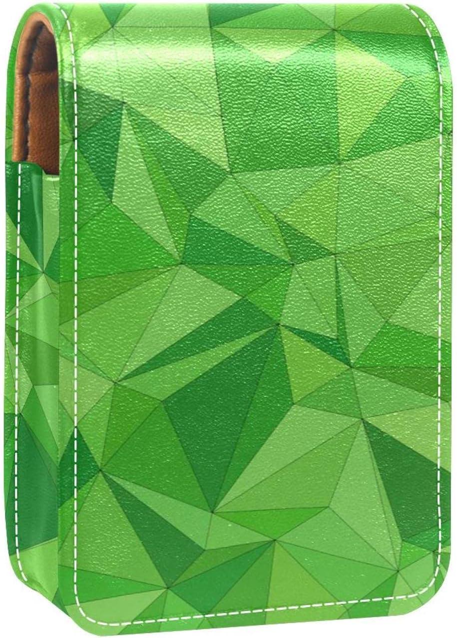 Mosaic Tile Geometrical Las Vegas Mall Abstract Green Max 48% OFF Lip Gloss Lipstick Holder