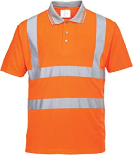 comprar comparacion Portwest RT22 - Hi-Vis S/S Polo, color naranja, talla 5XL
