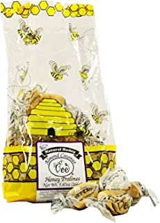 Queen Bee Gardens Natural Honey Caramel Pralines Candy Chews – 5.87 oz – Almond Coconut