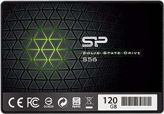 シリコンパワー SSD 120GB TLC採用 Phisonコントローラー SATA3 6Gb/s  2.5インチ 7mm  3年保証 S56シリーズ  SP120GBSS3S56B25
