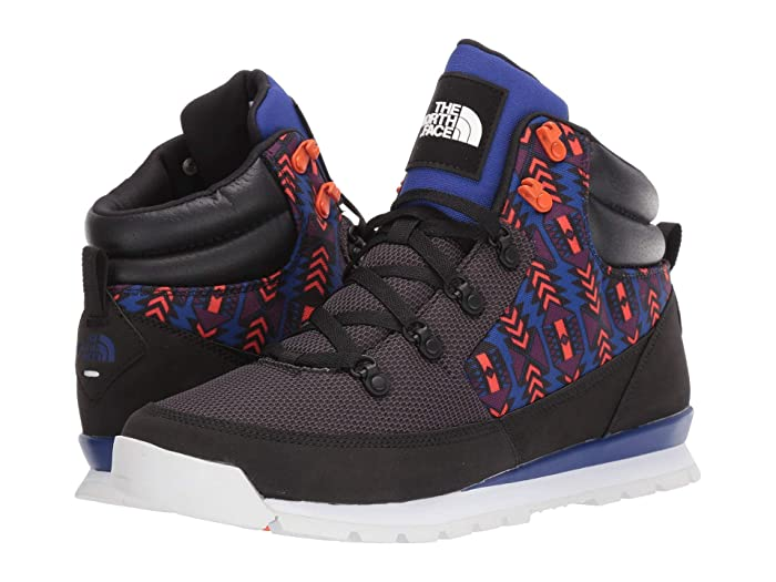 The North Face  92 Rage Back-to-Berkeley (TNF Black/Aztec Blue 1992 Rage Print) Mens Shoes
