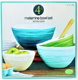 Best melamine mixing bowl set with lids Reviews
