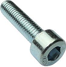 Aerzetix Bout met cilinderkop, M5 x 20 mm, DIN912, staal, verzinkt, 4 mm, Inbus C18327, 20 stuks