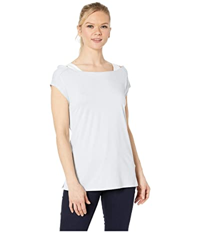 Columbia Place To Placetm Short Sleeve Shirt (Cirrus Grey Heather) Women