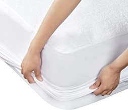 LOVTEX Queen Size Waterproof Mattress Protector - Premium Hypoallergenic Bed Bug Proof Mattress Cover Fitted 8 - 18 Deep Pocket