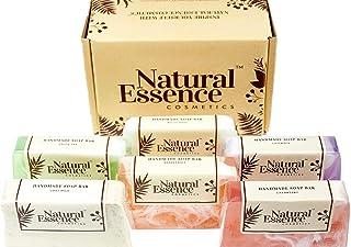 Handmade Soap Bars 6 Pack Soap Gift Set for Women Men Soap Bars Gift Box of Soap Handmade Soaps for Women and Men Boxed Gi...
