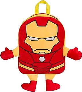 Marvel Iron Man Plush Front Backpack Kids' Rucksack Children's School Bag