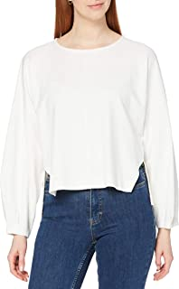 French Connection Women's SUZIE BEAU JERSEY PUFF SLV TOP Pullover Sweater