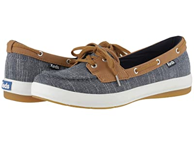 Keds Charter Cotton Slub (Navy Cotton Slub) Women
